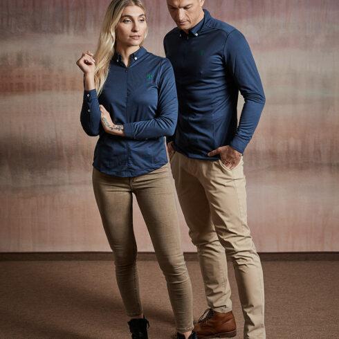 Wood Fashion Hemd dunkelblau