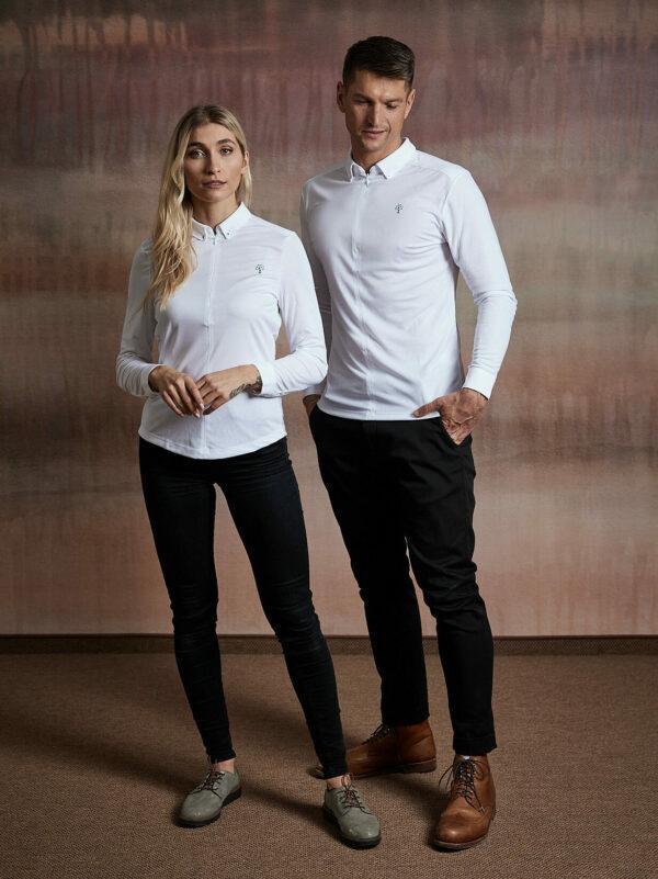 Wood Fashion Hemd weiß