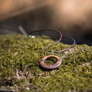 Holzschmuck aus Österreich - Halskette