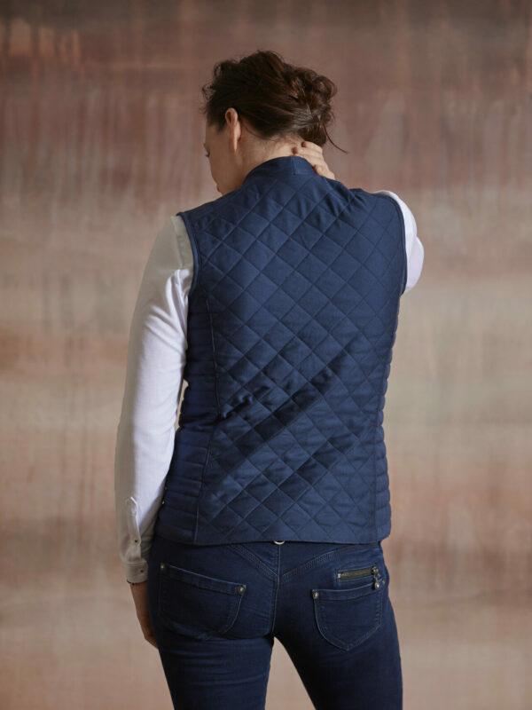 Gilet Damen Rücken