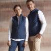 Wood Fashion Gilet dunkelblau