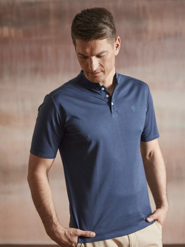 Polo Shirt Herren dunkelblau